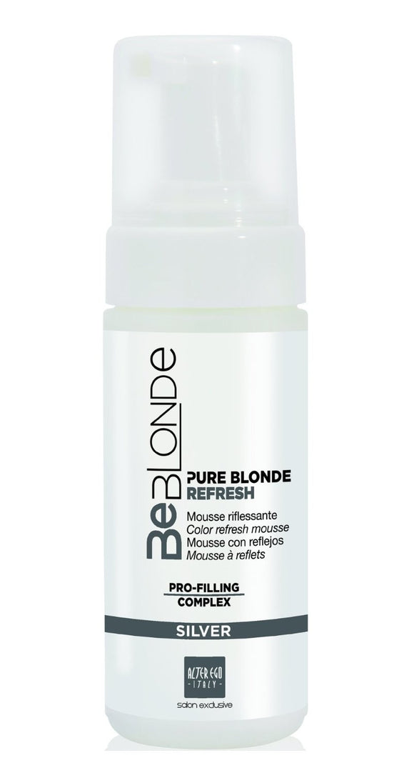 Alter Ego Be Blonde Pure Blonde Color Refresh Mousse Silver 150ml
