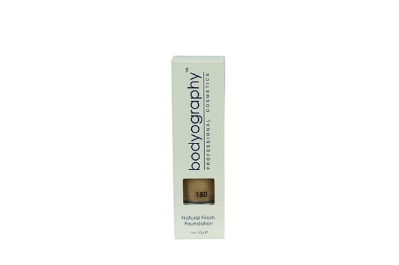 Bodyography Natural Finish Foundation - Fond de Teint - Flüssig Puder - Farbe 150