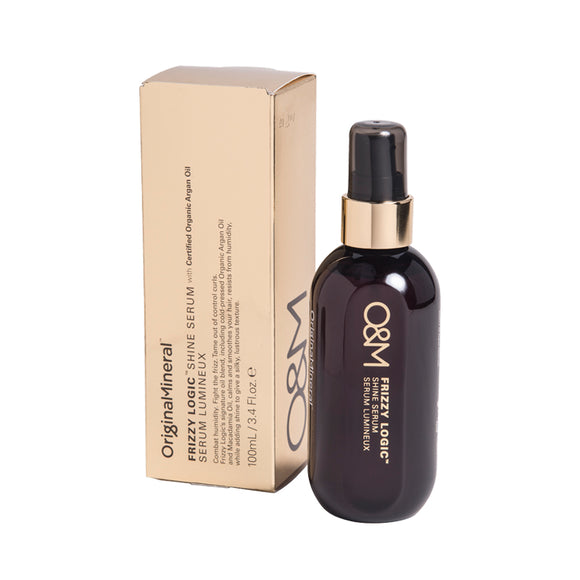 O&M Original & Mineral Frizzy Logic Finishing Shine Spray 100ml