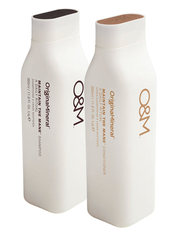 O&M Original & Mineral Maintain the Mane Shampoo und Conditioner Set