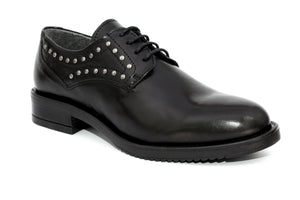 SK Black Orchid Leather Shoes