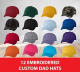 12 Dad Hats For As Low As $11.99 Each