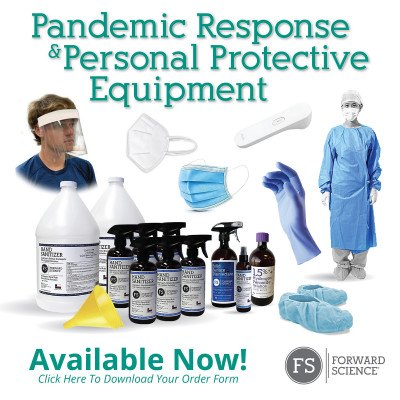 Personal Protective Equipment and Infection Control Products Available