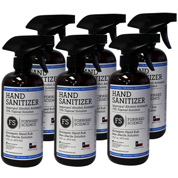 FS Hand Sanitizer and Surface Disinfectant Now Available!