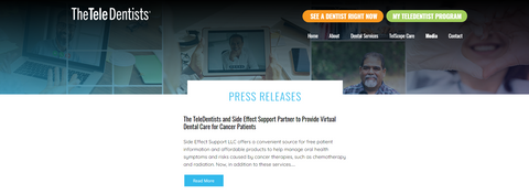 The TeleDentists Press Release