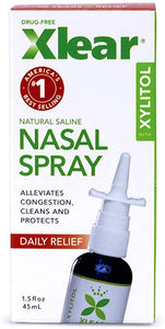 Xlear Natural Saline Nasal Spray 1.5 fl oz