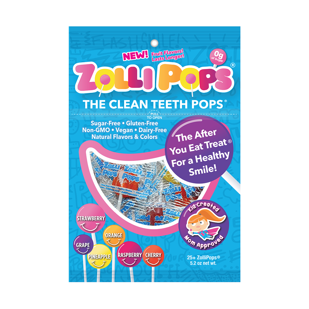 Zollipops 25 count Fruit Flavors - Side Effect Support LLC