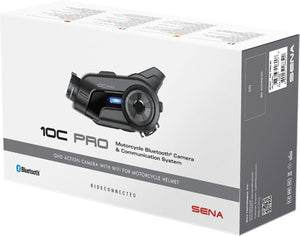 Sena 10C-PRO Motorcycle Bluetooth Camera and Communication System