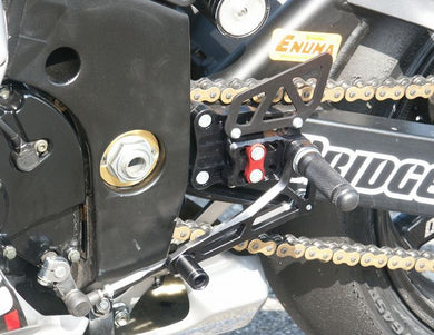 LSL 2Slide Adjustable Rearsets To Suit Suzuki GSX-R 1000 (2003-2004)