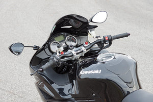 LSL Superbike Conversion Kit For Kawasaki ZZR 1400 (2012 - Onwards)(Colour:Black)