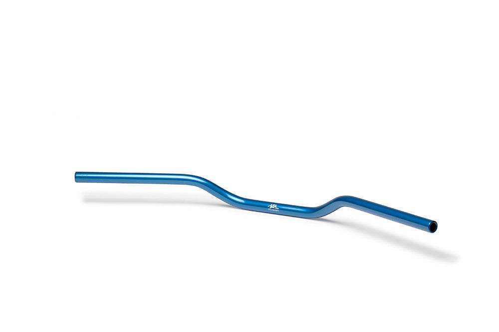 LSL 22.2mm Aluminium Superbike Handlebars(Colour:Blue)