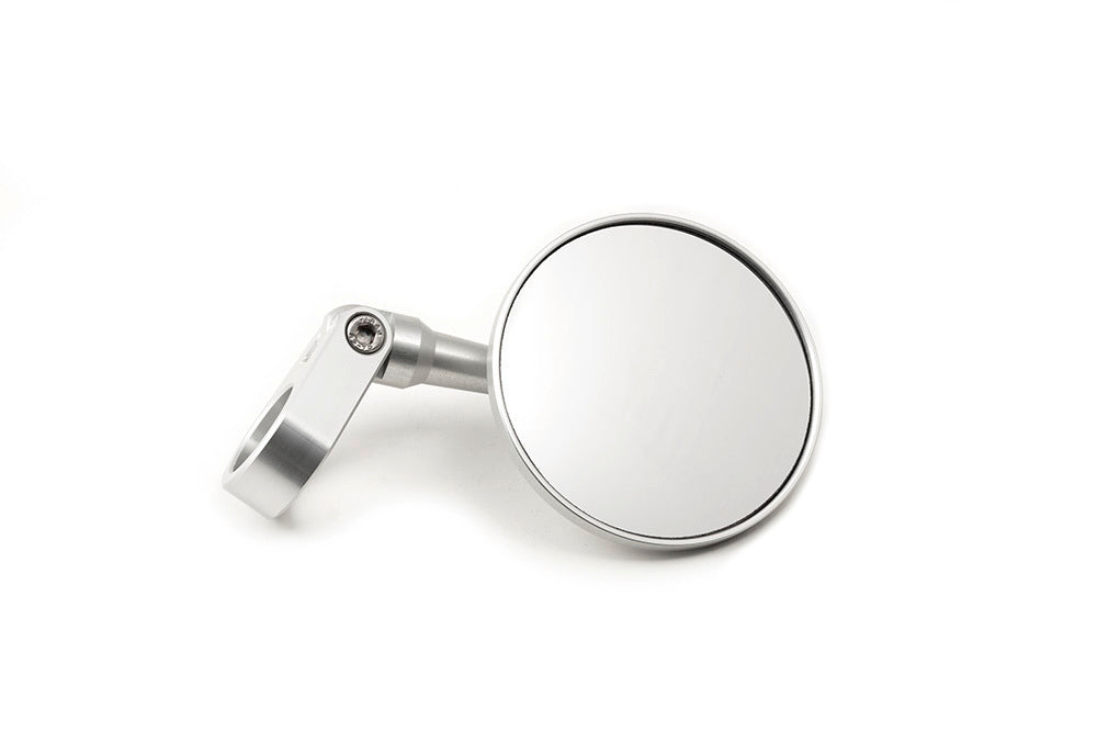 LSL Bar End Mirror (Silver, Clamping Type)