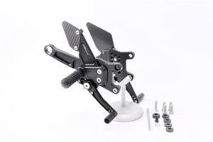MG Biketec Sport Rearsets To Suit Aprilia RSV4 (2009 - Onwards)