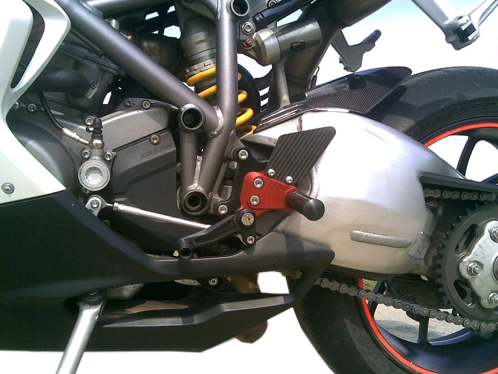 MG Biketec Sport Rearsets To Suit Ducati 848/1098/1198