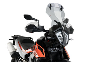 Puig Touring Screen With Visor For KTM 790 Adventure (2019 - Onwards) - Smoke