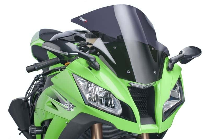 Puig Standard Screen To Suit Kawasaki ZX-10R (2011 - 2015) - Dark Smoke