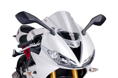 Puig Z-Racing Screen To Suit Triumph Daytona 675/675R (2013-2017) (Clear)