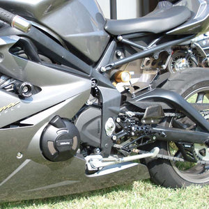 GBRacing Crash Protection Set (8mm) Triumph Daytona 675 Street Triple / R