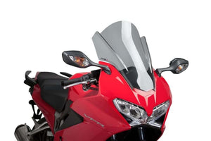 Puig Touring Screen For Honda VFR800F (2014-2017) - Light Smoke
