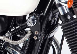 LSL Ignition Relocation Kit For Triumph Models(Colour:Silver)