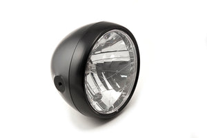 LSL Clubman Headlight(Colour:Matt Black)