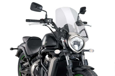 Puig Naked New Generation Screen To Suit Kawasaki Vulcan (2015-onwards) - Clear