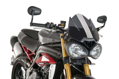 Puig New Generation Screen To Suit Triumph Speed Triple 2006 - Onwards (Dark Smoke)