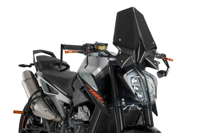 Puig New Generation Sport Screen To Suit KTM 790/890 Duke (Dark Smoke)