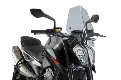 Puig Naked New Generation Sport Screen To Suit KTM 790/890 Duke (Smoke)