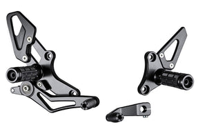 <p>Bonamic Racing Rearsets To Suit BMW R Nine T / R1200R</p>