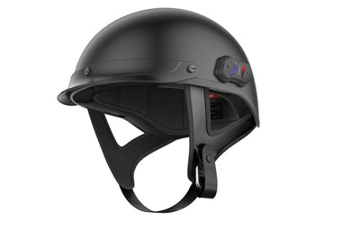 Sena Cavalry, Bluetooth Half Helmet - Matt Black