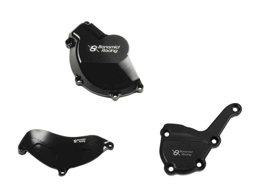 Bonamici Racing Engine Cover Protection Kit To Suit BMW S1000R/RR (2017-2018)