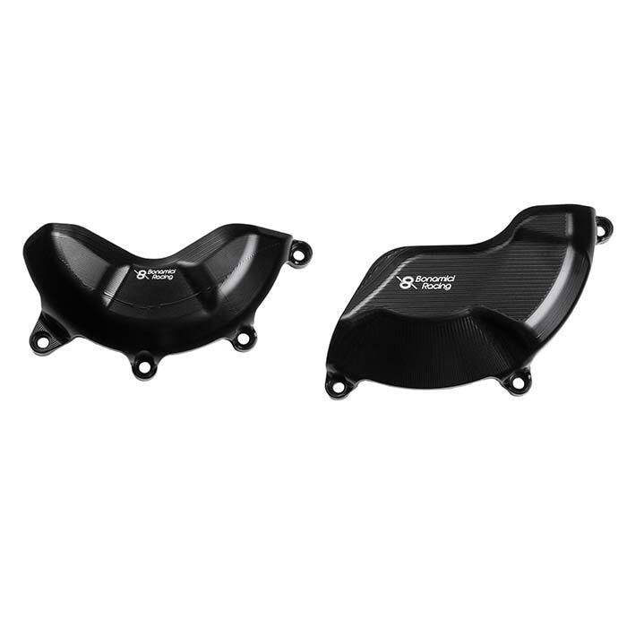 Bonamici Racing Engine Cover Protection Kit To Suit Ducati Panigale V4 (2018-onwards)