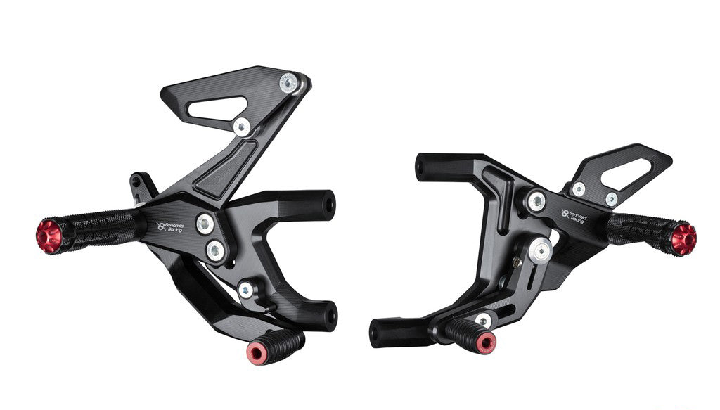 Bonamici Racing Rearsets To Suit Ducati Panigale 899/959/1199/1299 (2012-2018)