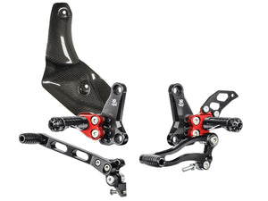 Bonamici Racing Rearsets To Suit Ducati Streetfighter (2009 - 2015)