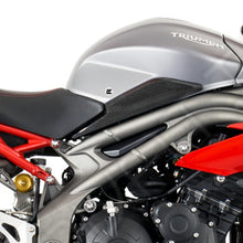 Load image into Gallery viewer, Eazi-Grip EVO Tank Grips for Triumph Speed Triple / S / R  clear
