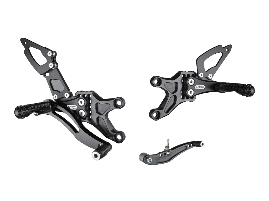 Bonamici Racing Rearsets To Suit Honda CBR600RR (2007-2017)