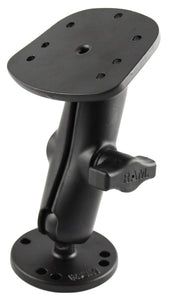 RAM-B-107-1U - RAM Flat Surface Marine Electronic Mount for the Eagle Cuda, FishEasy, Humminbird Piranha  Lowrance X-4