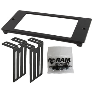RAM-FP4-7000-3600 - RAM Tough-Box 4  Custom Faceplate for 7  x 3.6  Devices