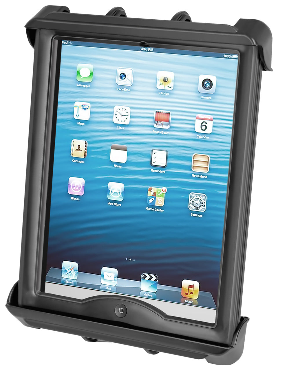 RAM-HOL-TAB8U - RAM Tab-Tite Universal Clamping Cradle for 10  Screen Tablets WITH HEAVY DUTY CASES
