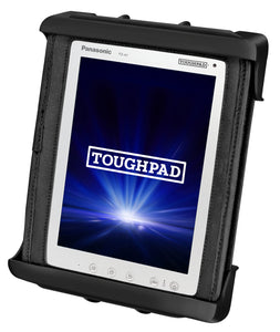 RAM-HOL-TAB9U - RAM Tab-Tite Cradle for the Panasonic Toughpad FZ-A1 (WITH CASE)