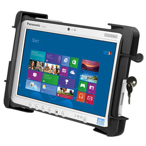 RAM-HOL-TABL19U - RAM Tab-Lock Locking Cradle for the Panasonic Toughpad FZ-G1