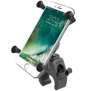 <p>RAM-HOL-UN10-400U - RAM X-Grip Large Phone Mount with Low Profile RAM Tough-Claw Base</p>