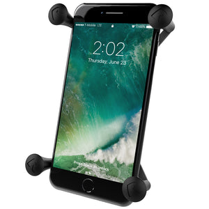 RAM-HOL-UN10BU - RAM Universal X-Grip IV Large Phone/Phablet Holder with 1  Ball