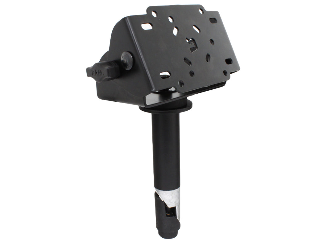 RAM-VC-TNT90-4 - RAM Tilt-N-Turn 90 Degree Bracket with 4  Male Tele-Pole