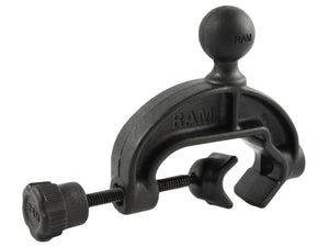 RAP-B-121BU - RAM Composite Yoke Clamp Base with 1  Rubber Ball