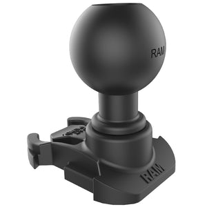 RAP-B-202U-GOP2 - RAM 1  Ball Adapter for GoPro Mounting Bases