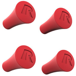 RAP-UN-CAP-4-REDU - RAM X-Grip Red Rubber Cap 4-Pack