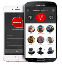 Load image into Gallery viewer, Sena RC1 1-Button Remote for RideConnected App