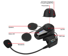 Load image into Gallery viewer, Sena SMH10 Single Pack Motorcycle Bluetooth Intercom